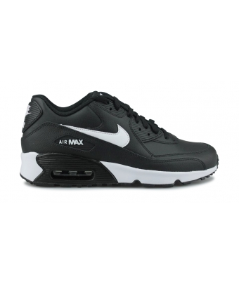NIKE AIR MAX 90 LTR JUNIOR NOIR 833412-025