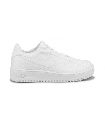 NIKE AIR FORCE 1 FLYKNIT 2.0 JUNIOR BLANC BV0063-100