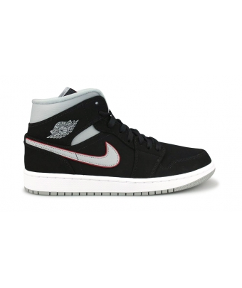 AIR JORDAN 1 MID JUNIOR NOIR 554724-060