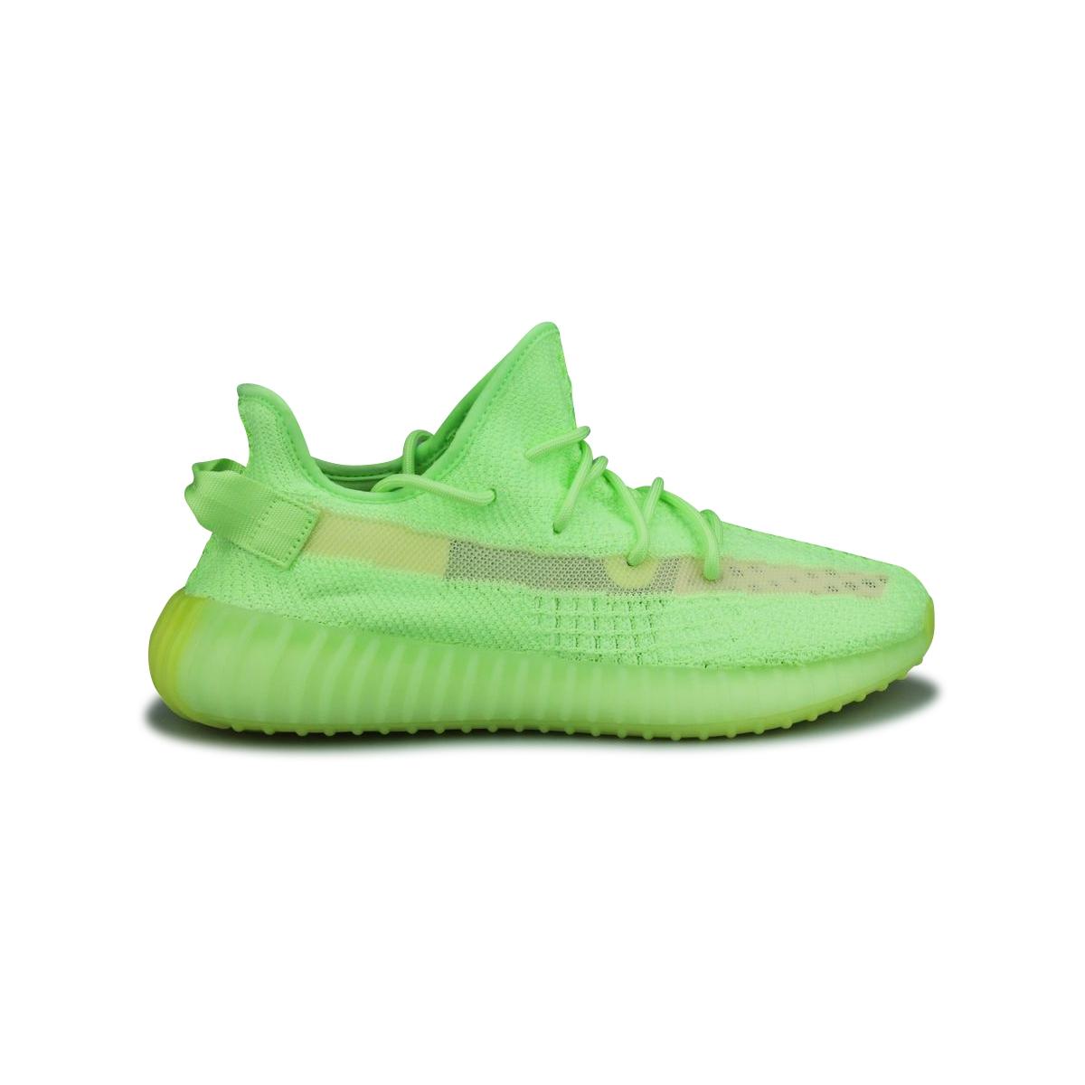 Adidas Yeezy 350 vert fluo qui brille dans le noir (2019