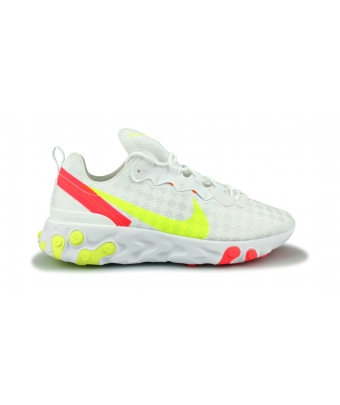 NIKE REACT ELEMENT 55 BLANC CJ0782-100