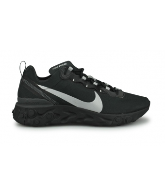 NIKE REACT ELEMENT 55 NOIR BV1507-002