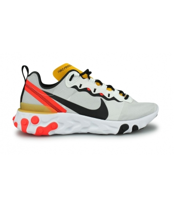 NIKE REACT ELEMENT 55 GRISE BQ6166-102