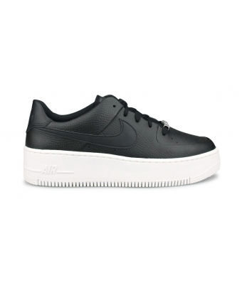 NIKE W AIR FORCE 1 SAGE LOW NOIR AR5339-002