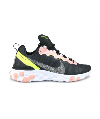 WMNS NIKE REACT ELEMENT 55 PRM NOIR CD6964-002