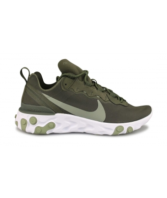 WMNS NIKE REACT ELEMENT 55 KAKI BQ2728-302