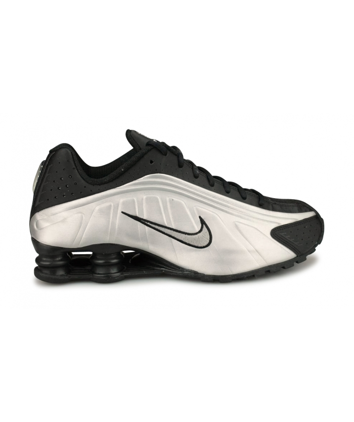 NIKE SHOX R4 ARGENT 104265-045