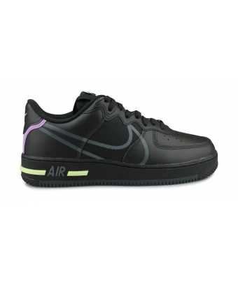 NIKE AIR FORCE 1 REACT NOIR CD4366-001