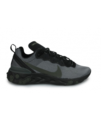 NIKE REACT ELEMENT 55 NOIR BQ6166-010