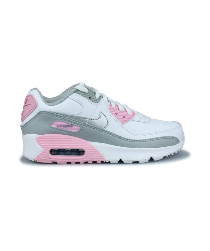 NIKE AIR MAX 90 LTR JUNIOR BLANC CD6864-004