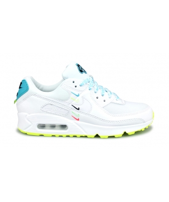 NIKE AIR MAX 90 JUNIOR BLANC CZ5868-100