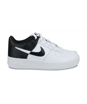 NIKE AIR FORCE 1 LV8 JUNIOR BLANC CK0502-100