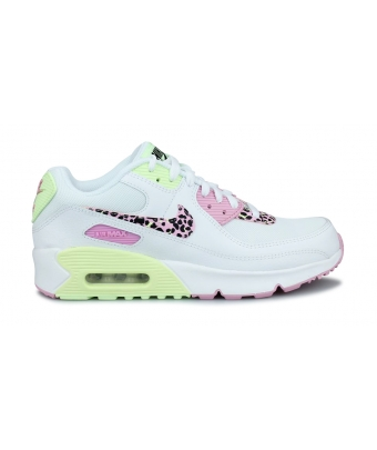 NIKE AIR MAX 90 JUNIOR BLANC DA4675-100