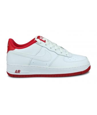 NIKE AIR FORCE 1-1 JUNIOR BLANC CD6915-101