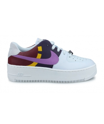WOMEN NIKE AIR FORCE 1 SAGE LOW LX GRIS BV1976-003