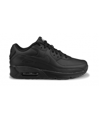 NIKE AIR MAX 90 LTR JUNIOR NOIR CD6864-001