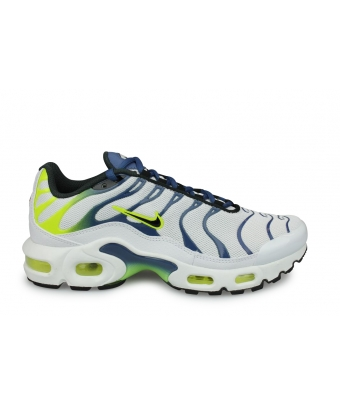 NIKE AIR MAX PLUS JUNIOR BLANC CD0609-101