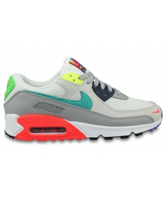 WOMEN NIKE AIR MAX 90 SE GRIS DD1500-001
