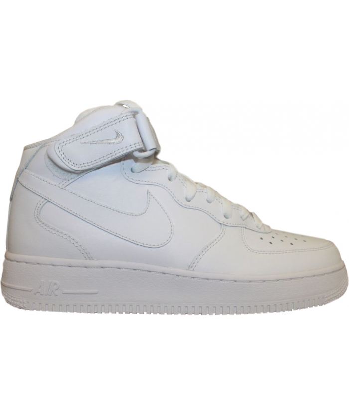 NIKE AIR FORCE 1 MID 07 BLANC