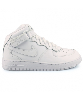 NIKE AIR FORCE 1 MID ENFANT Blanc 314196-113