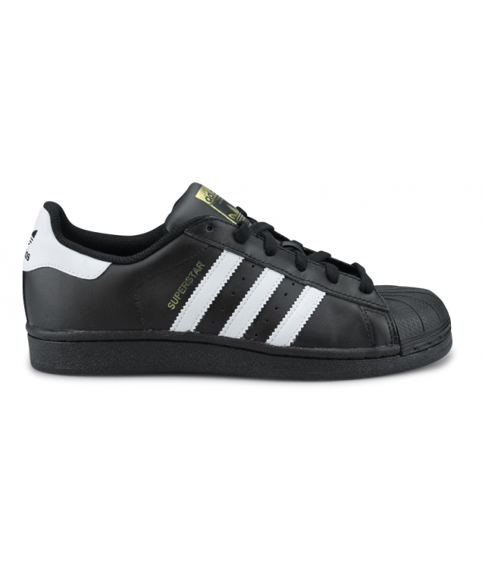 Adidas Originals Superstar foundation Junior Noir B23642