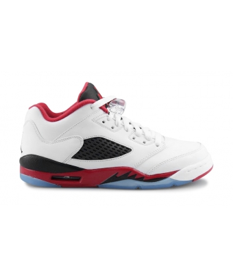AIR JORDAN 5 RETRO LOW JUNIOR Blanc 819171-101