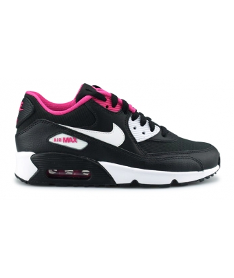 NIKE AIR MAX 90 MESH JUNIOR Noir 833340-002