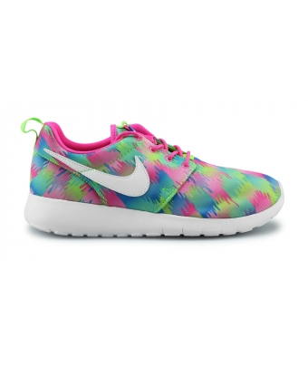 NIKE ROSHE ONE PRINT JUNIOR ROSE 677784-607