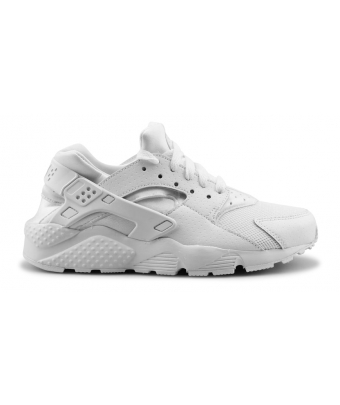 NIKE HUARACHE RUN JUNIOR Blanc 654275-110
