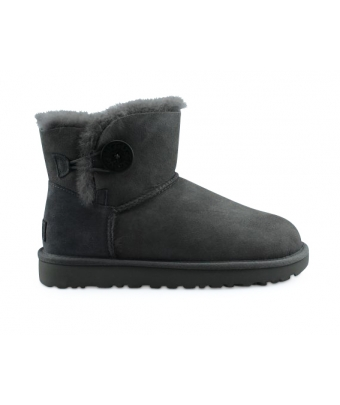UGG W MINI BAILEY BUTTON 2 GRIS 1016422GREY