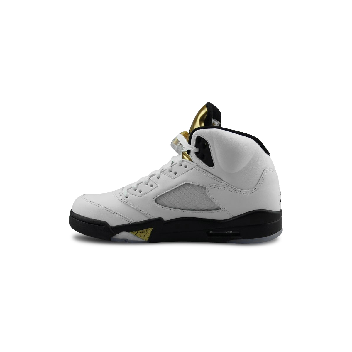 Basket Air Jordan 5 Retro Blanc 136027-133 913D5