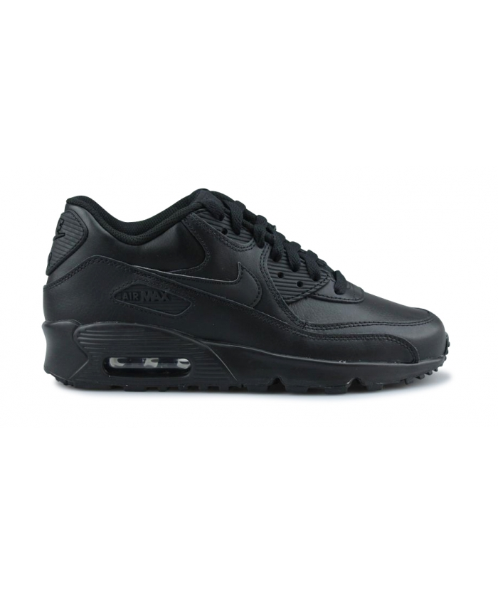 NIKE AIR MAX 90 LTR JUNIOR NOIR 833412-001