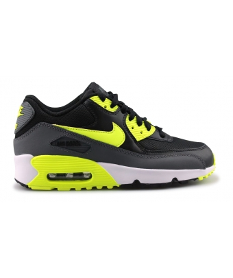 NIKE AIR MAX 90 MESH JUNIOR NOIR 833418-006