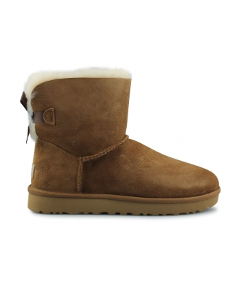 UGG W MINI BAILEY BOW 2 CHATAIGNE 1016501CHE