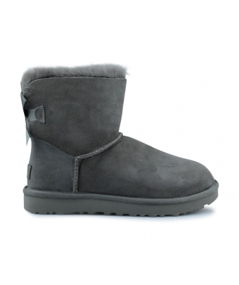 UGG W MINI BAILEY BOW 2 GRIS 1016501GREY