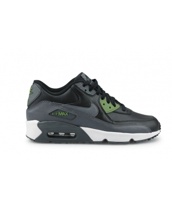 NIKE AIR MAX 90 LTR JUNIOR NOIR 833412-008
