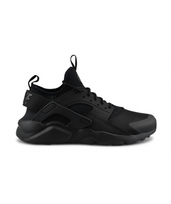 NIKE AIR HUARACHE RUN ULTRA JUNIOR NOIR 847569-004
