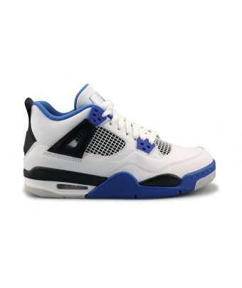 AIR JORDAN 4 RETRO JUNIOR BLANC 408452-117