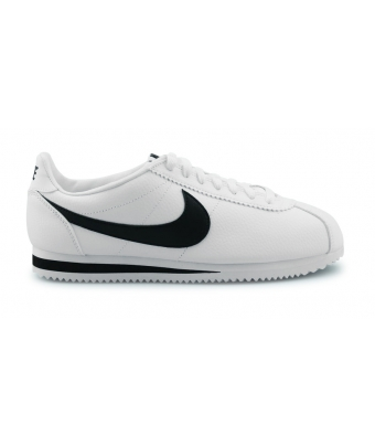 NIKE CLASSIC CORTEZ LEATHER BLANC 749571-100