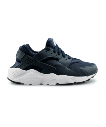 NIKE AIR HUARACHE RUN JUNIOR BLEU 654275-410