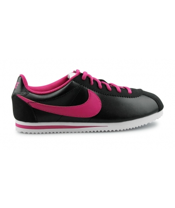 NIKE CORTEZ LEATHER JUNIOR NOIR 749502-001