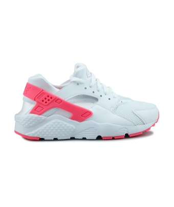 NIKE HUARACHE RUN JUNIOR BLANC 654280-108