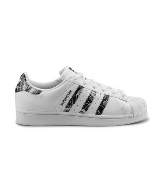ADIDAS ORIGINALS SUPERSTAR FEMME BLANC BB0531
