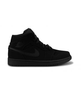AIR JORDAN 1 MID NOIR 554724-040