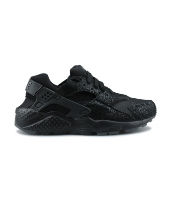 NIKE HUARACHE RUN SE JUNIOR NOIR 909143-001