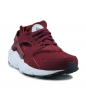 NIKE HUARACHE RUN JUNIOR ROUGE BORDEAUX 654275-602