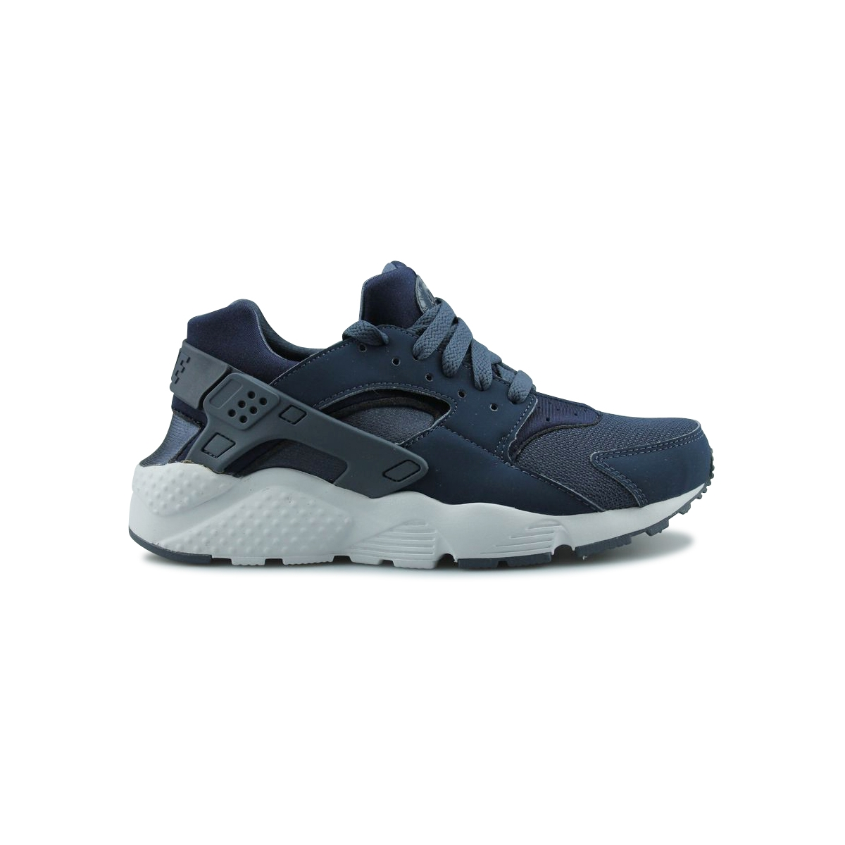 Basket Nike Air Huarache Run Junior Bleu 654275410 FHMTHSq