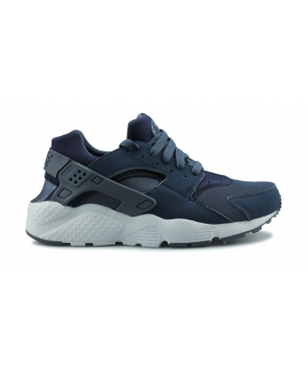 NIKE HUARACHE RUN JUNIOR BLEU 654275-411
