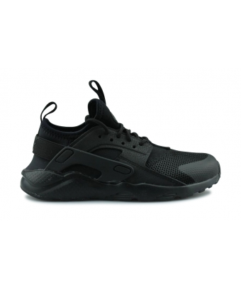 NIKE HUARACHE RUN ULTRA ENFANT NOIR 859593-004