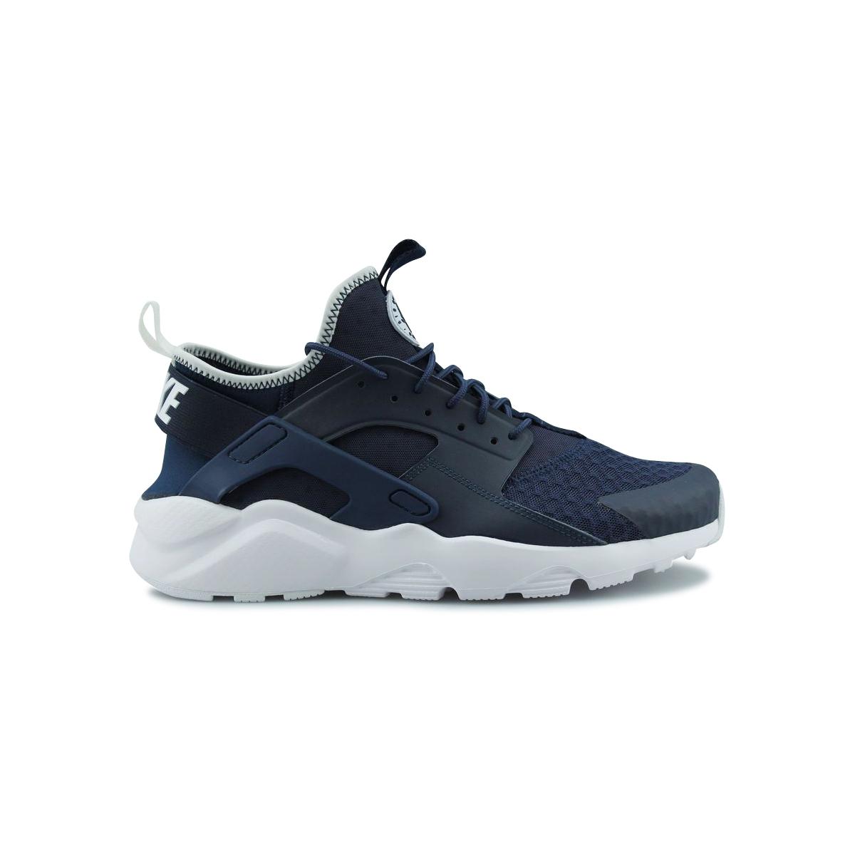 Nike Huarache Run Ultra - Ref. 819685-406 Bleu - Chaussures Baskets basses Homme
